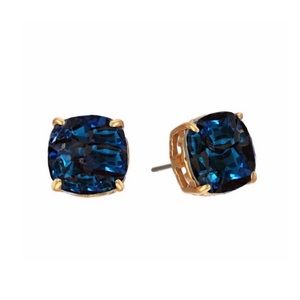 TORY BURCH • Tory Set Crystal Blue Earrings